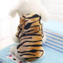 New Flannel, Button, Tiger, Dog, Cat, Clothes in Autumn and Winter