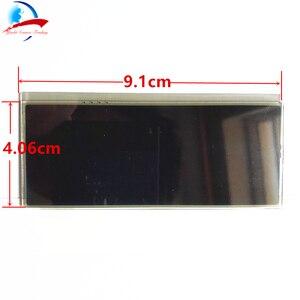 Image 2 - Auto ACC Lcd Modulo del Pannello Monitor di Visualizzazione di Riparazione del Pixel sfondo Rosso Aria Condizionata Informazioni Dello Schermo Per Peugeot 207