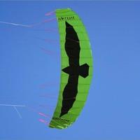 Бесплатная доставка Большой 5 7 квадратных метров силовой кайт посадки в виде длинного прямоугольника трюк кайт с управлением БАР тяги Кайт