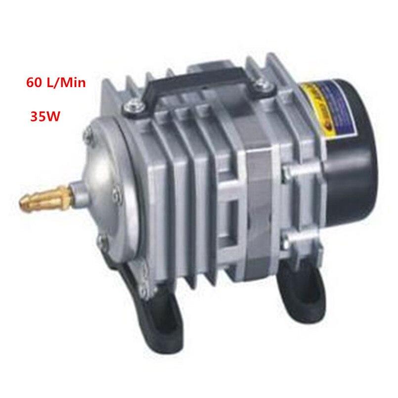 цена на AC220V 35w 60L/Min oxygen pump, electromagnetic air pump,booster pump ozone pump