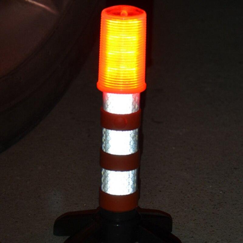 Led Traffic Warning Light Multi-color Emergency Baton Signal Lamp Portable Durable Baton Construction Safety Warning Light