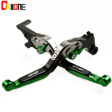 2 Colors CNC Motorcycle Accessories Foldable Adjustable Brake Clutch Levers Set For KAWASAKI ER6F ER-6F 2017 2018 Two styles цена
