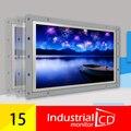 15 polegada 4:3 Open Frame Monitor LCD TFT Touch Screen Monitor de computador 15 Polegada quatro-fio Tela de Toque Resistiva LCD DVI monitores