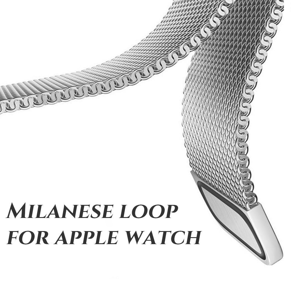 20 mm laius Huawei 2 kellarihma jaoks, maagiline sulgur, Milanese - Kellade tarvikud - Foto 2