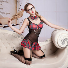 Women Student Cosplay Costume Sexy Porno Lingerie Hot Erotic Uniform Babydoll Underwear