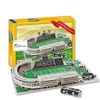 Кэндис го 3D головоломка DIY игрушка бумаги модель здания Спорт стадион васко да гама Стадион футбол собрать игра подарок 1 компл.