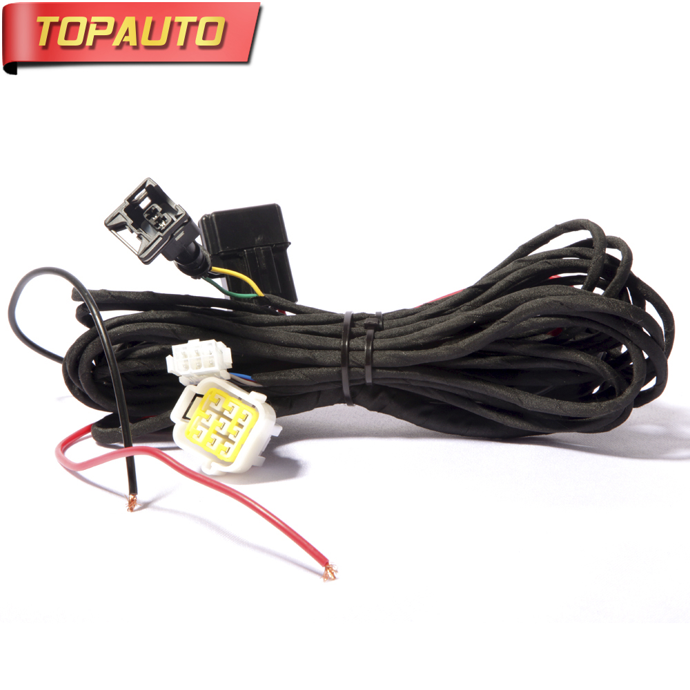 TopAuto Main Connection Wiring Harness Set For Air Diesel Parking Heater Similar to Eberspach Heater for Cars Truck Caravan Boat external temperature sensor for air 5000 w parking heater similar to webasto diesel heater