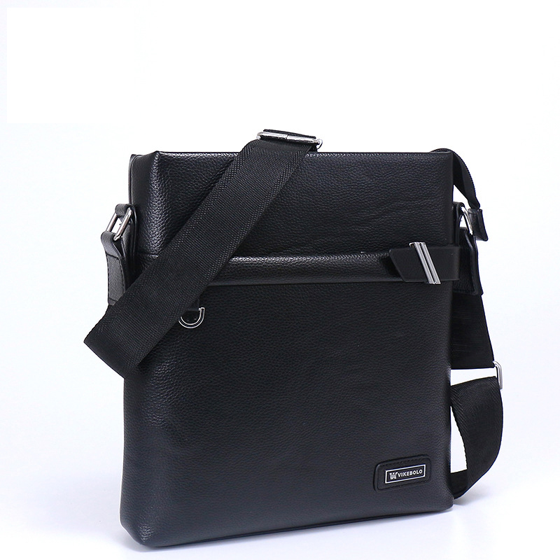 9abbdfefe9c2 Aliexpress.com   Buy 2018 Men Brand Leather Shoulder Bag and Purse Male  Casual Business Satchel Messenger Bag Vintage Men s Crossbody Bags 4 Sets  from ...