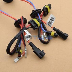 Image 3 - H7 קסנון HID המרה ערכת הצתה יחידה כור עבור עדשות פנס 12V 35W AC נטל הנורה H1 H3 9005 9006 4300K 6000K 8000K
