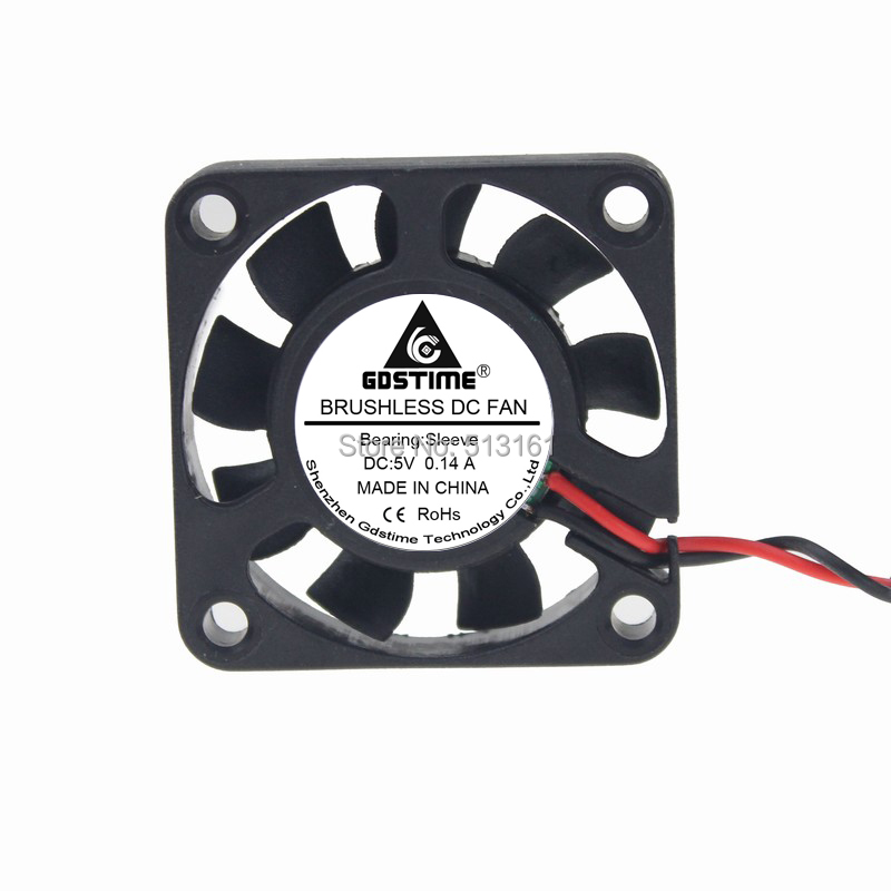 Gdstime Mini Brushless 40x40x10mm 4010S Computer Case USB 40mm 4cm 5V DC Cooling Fan