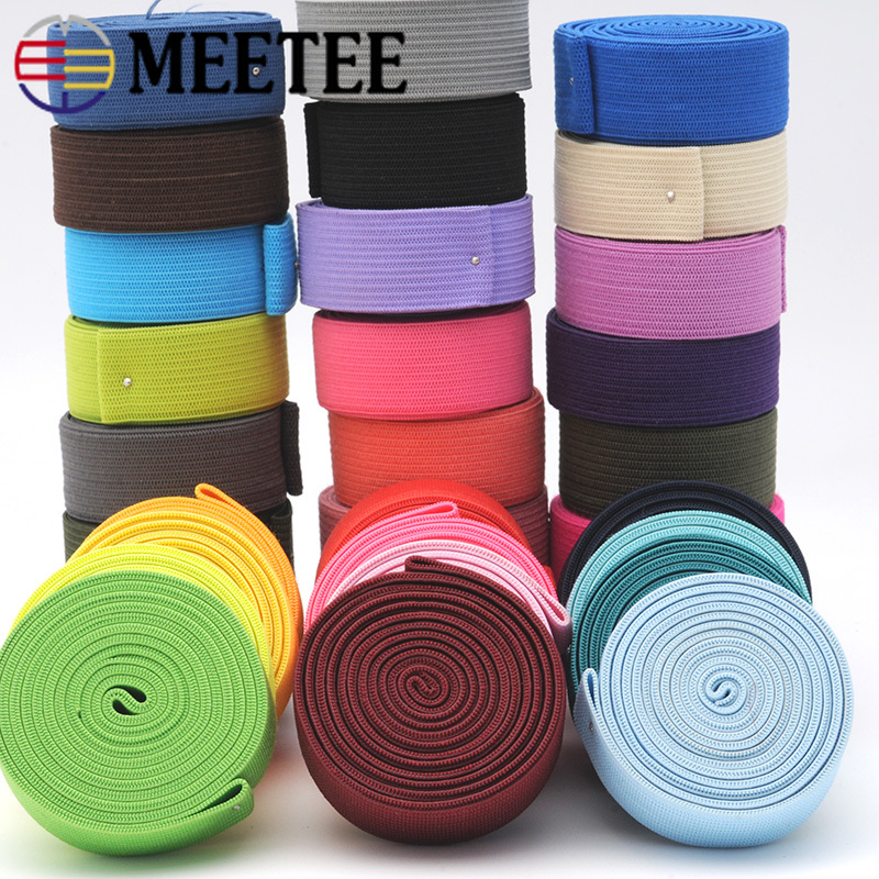 Nylon Sewing Elastic Band Soft Skin Crocheted Rubber Band Underwear Pants Decorative Elastic Ribbon DIY Garment Accessories in Elastic Bands from Home Garden