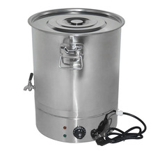 High Quality Beekeeping Equipment Stainless Steel Honey Melting Bucket With Thermo Regulator 70