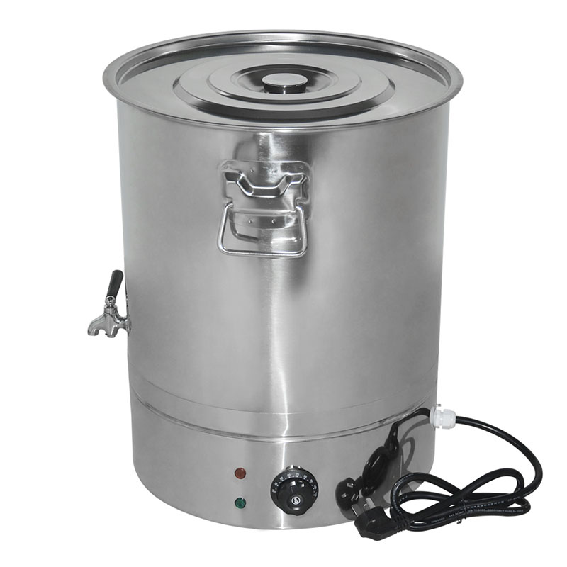 High Quality Beekeeping Equipment Stainless Steel Honey Melting Bucket With Thermo Regul ...