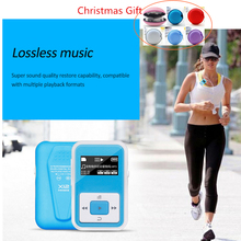 HIFI Lossless MP3 Player FM Recorder Function HIFI Sound 8GB Sport Music Player with Back Clip Auido Player(China)