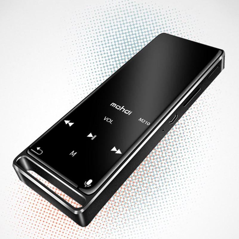 HIFI Lossless Bluetooth Metal MP3 Player Recorder FM Video E-book 16G Radio Sport Wireless Music Player Support OTG Link