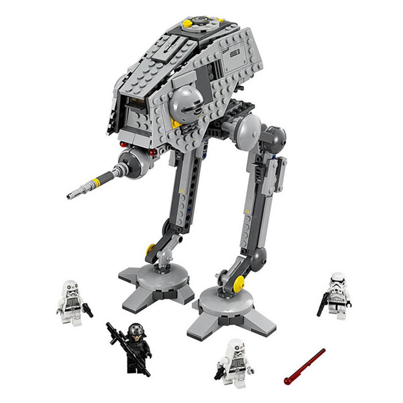 499pcs Diy Bela Star Wars 7 AT DP Force Awake Figure Building Blocks Compatible With L Brand Bricks Toys For Children 499pcs new space wars at dp robots 10376 model building blocks toys gift rebels animated tv series bricks compatible with lego