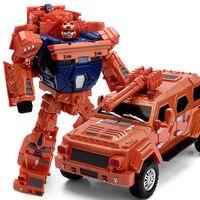 WEI JIANG Transformação a grande carga de King Kong 5 liga de Brinquedo robô deformação carro de presente do menino