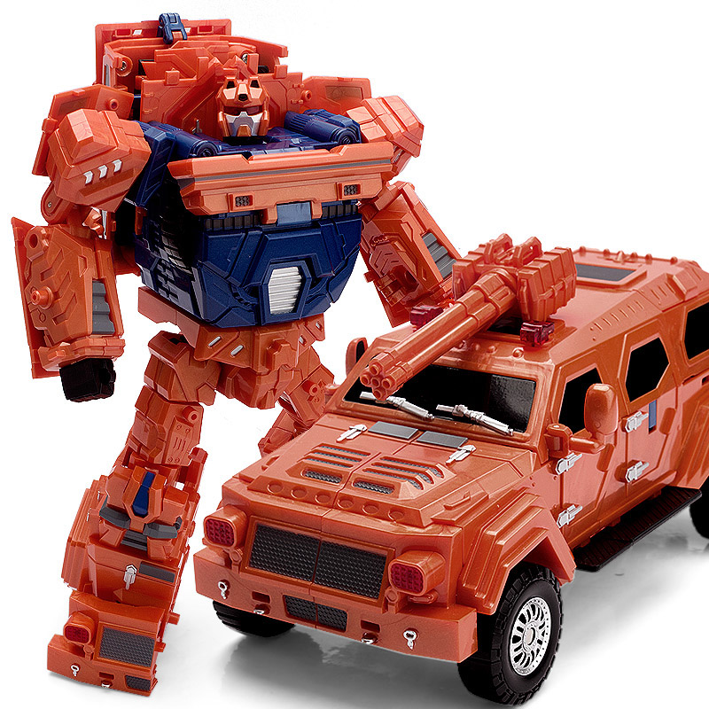 WEI JIANG Transformation Toy the wide load of King Kong 5 alloy robot gift boy deformation car viruses cell transformation and cancer 5