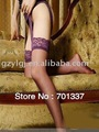 6 шт./лот сексуальное женское белье кружево чулок с подтяжками поясом фиолетовый 4228