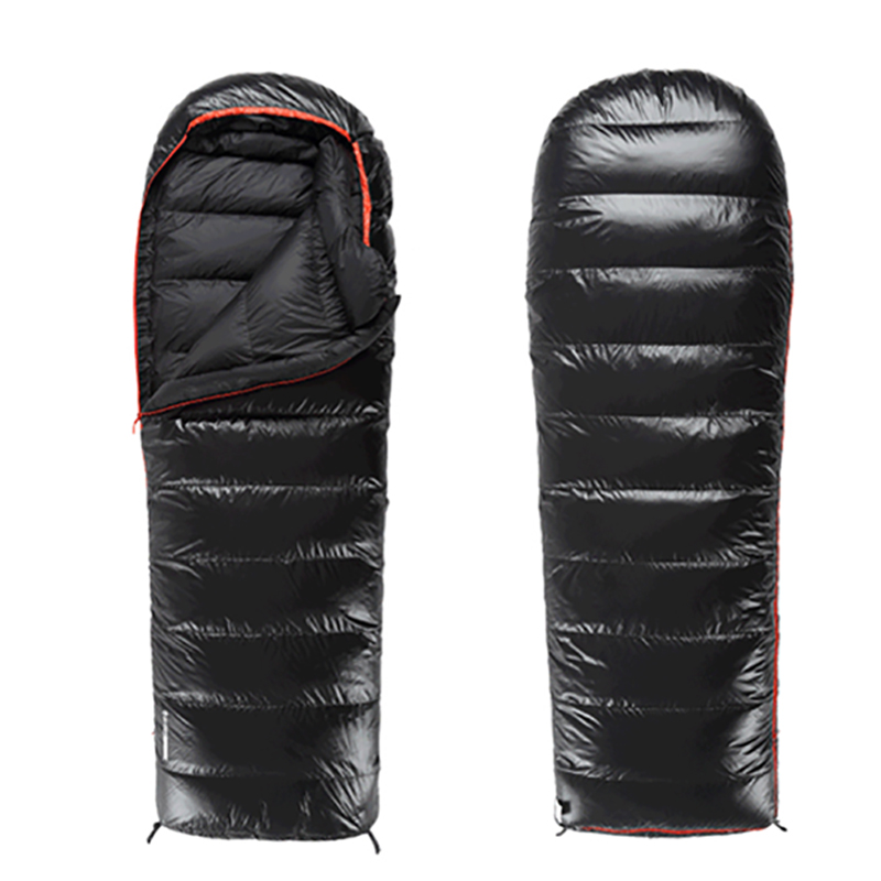 Blackice UPDATE A1500 Black/Blue/Orange Splicing Single Ultra Light Down Winter Envelope  Sleeping Bag with Free Compression Bag labeyrie фуа гра утиная 150 г