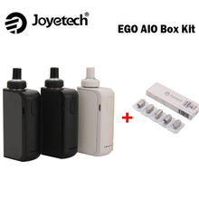 Electronic Cigarette Joyetech EGO AIO Box Kit 2ml Atomizer Capacity BF SS316 Coil and 2100mAh Built-in battery joyetech AIO Kit