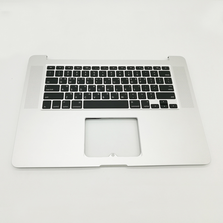 New A1398 Top Case Korea Korean Layout keyboard with Backlight For Macbook Pro Retina 15