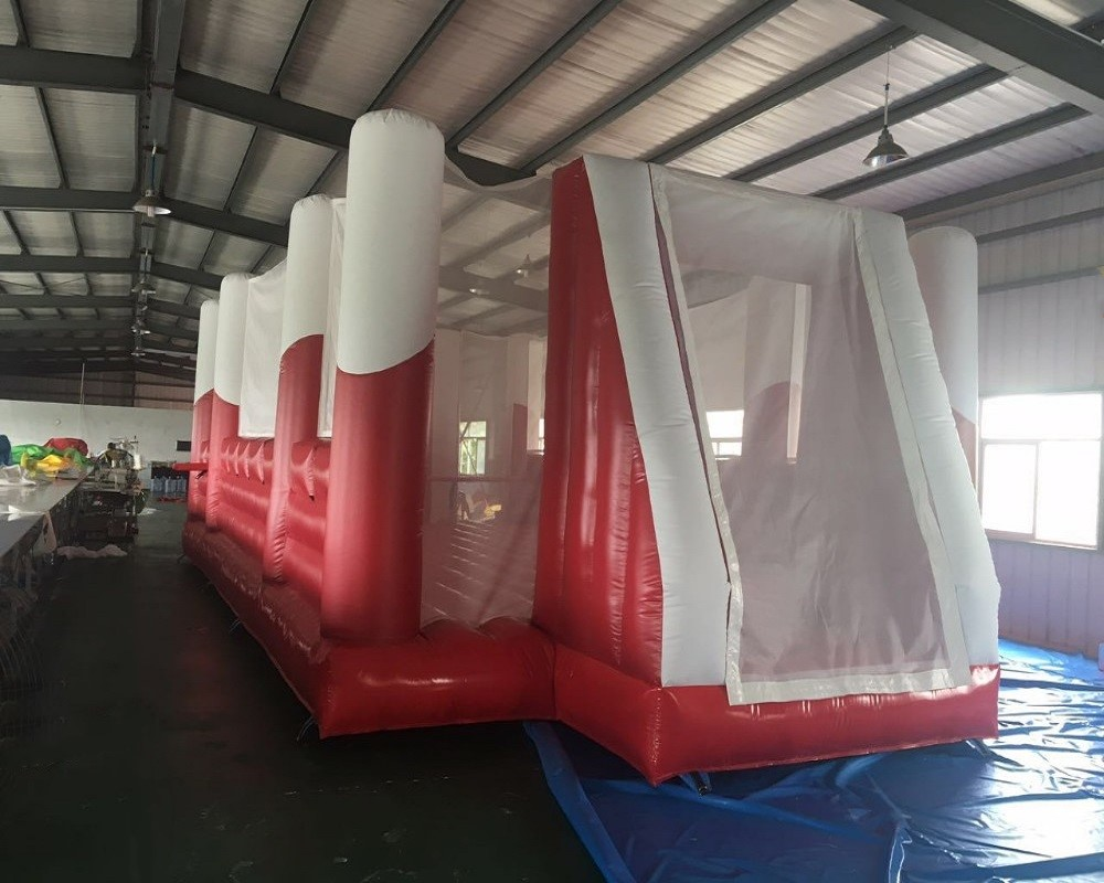 PVC inflatable football field/inflatable football pitch/inflatable soccer field/inflatable soccer court sport game for sale