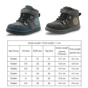Image 2 - Apakowa # buy 2 obter 1 livre # criança meninos primavera outono gancho e laço botas de tornozelo curto crianças tênis de renda sapatos casuais