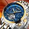 2018LIGE Mens Watches Brand Luxury Business Automatic Machinery Men S Watch All Steel Waterproof Men S