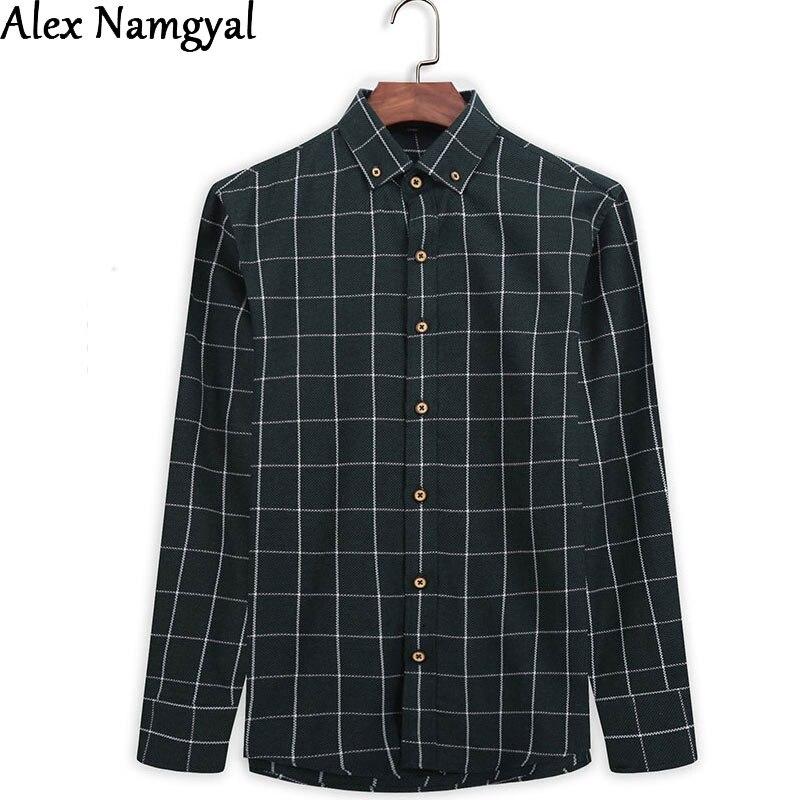 Online Get Cheap Green Flannel Shirt