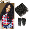 Rosa Hair Products Brazilian Deep Wave With Closure Brazilian Virgin Hair Deep Wave With Closure Human Hair With Closure Bundles