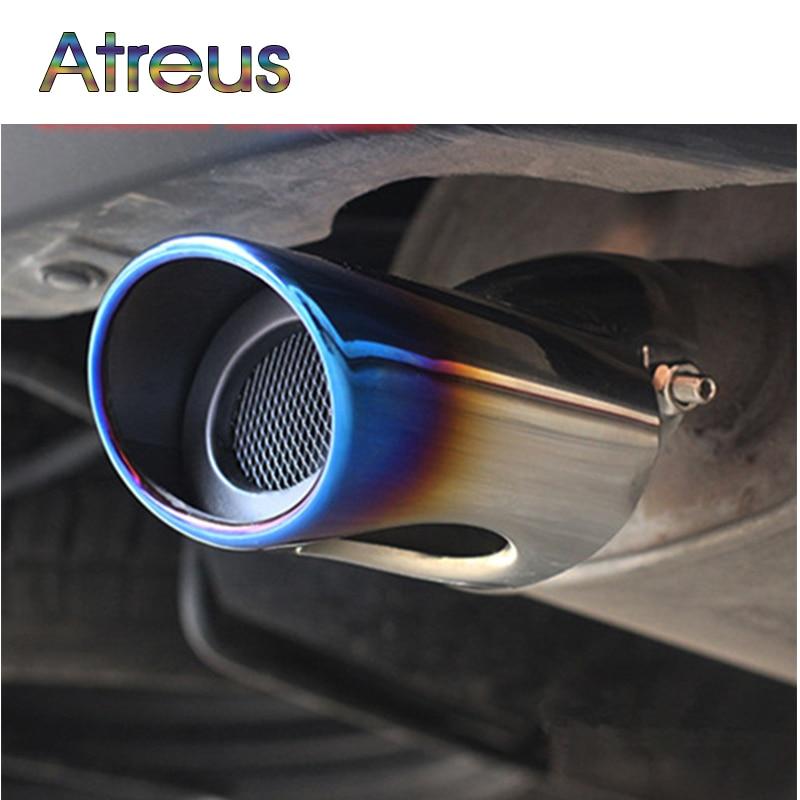 Atreus 1ks pro Mitsubishi Outlander 2013 2014 2015 z ušlechtilé oceli auto výfukového tlumiče výfukových trubek Outlander auto příslušenství