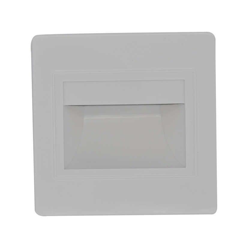 95 мм настенный светильник светодиодный 8 светодиодный s напольное освещение ночного света для канала/лестничной лестницы столовой footlight лестничные светильники с 86 коробкой