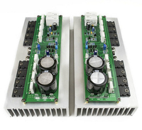 PR 800 Class A Stage Home Fever 1000W High Power Amplifier Board Power tube TTA1943 TTC5200 + MJE15032 15033