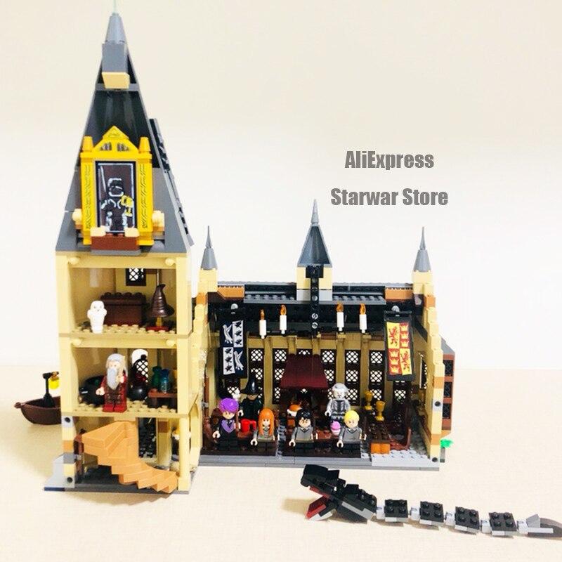 16060 Harry Movie Series Compatible With 71043 Hogwarts Castle Set Building Blocks Bricks House Model Christmas Toys