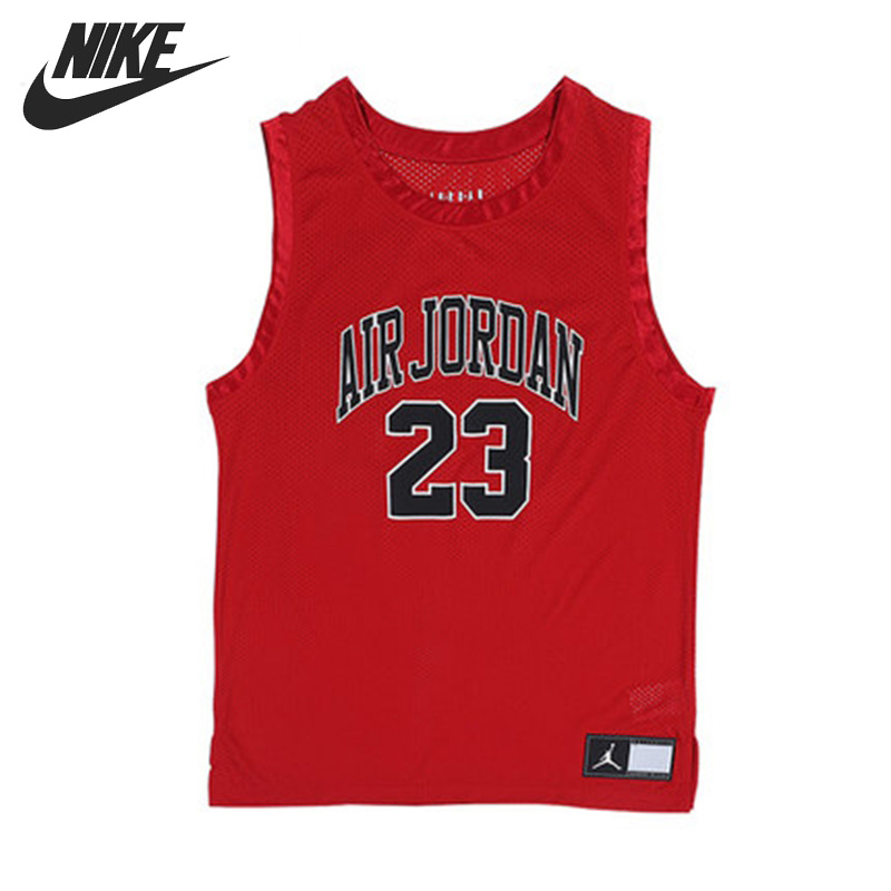 Original New Arrival NIKE AS DNA DISTORTED JERSEY Men s T shirts Sleeveless Sportswear