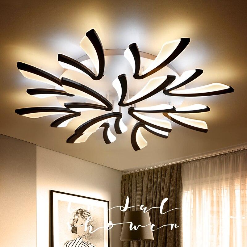 2018 Sale Lustre Acrylic Modern Led Ceiling Lights For