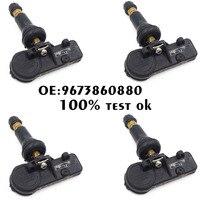 NEW 4pcs Tire Pressure Monitoring Sensor 52933 C1100 TPMS For Hyundai Kia Sonata Tucson I20 Genuine