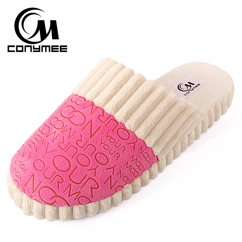 Women Winter Home Slippers Indoor Fluffy Shoes Pantufas Soft Plush Couple Warm Fur Slipper Terlik Woman Cotton Shoe Big Size tolaitoe new winter warm home women slipper cotton shoes plush female floor shoe bow knot fleece indoor shoes woman home slipper