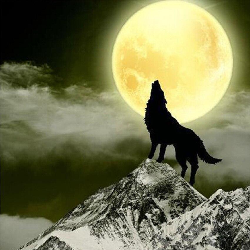 нужен картинки волчица под луной фруктами