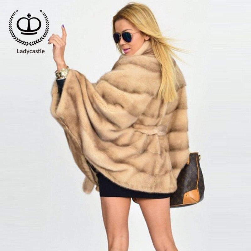 Vente Fourrure Femmes Manteau Naturelle Réel Hot De 076 Stand 2018 New Apricot Collier Vison Manteaux Mkw Color Pelt Complet Outwear Dyeing xwqCXE