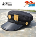 The comic & Animation JOJO's Bizarre Adventure Kujo Jotaro metal Badges hat visors