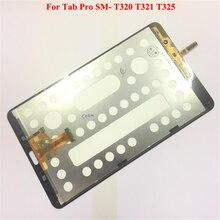 Ограниченное предложение FIXSAILING ЖК-дисплей Дисплей Сенсорный экран планшета датчики сборки Панель Замена для samsung Galaxy Tab Pro SM-T320 T321 T325