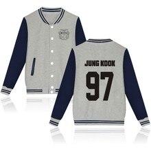 Moda caliente BTS Kpop Sudadera Mujer Sudaderas casual hip hop más tamaño  fleece tracksuit streetwear para 1bce00370bd