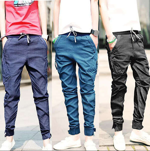 Fashion 2016 New Baggy Elastic Harem jeans Men Taper Jeans Joggers Casual Hip hop Legging Pants