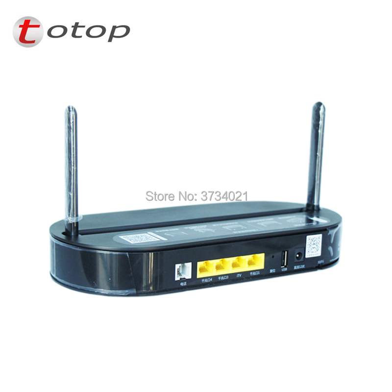 HUA WEI HS8145V EPon 4GE 1Voice 2.4G 5G WiFi EPON ONU ONT-in Fiber Optic Equipments from Cellphones & Telecommunications