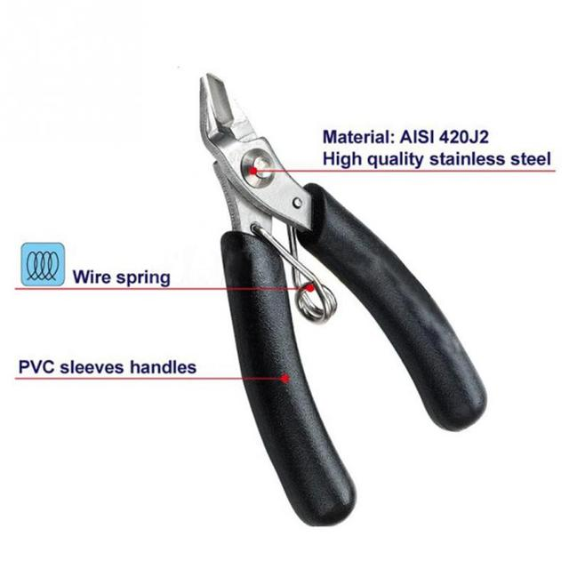 Electrical Wire Strippers | Electrical Wire Stripper Cutting Plier Shear Cable Side Cutter Snips