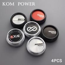 KOM 4pcs 60/56mm clip ssr racing center cap advan cover cap for wheel xxr logo badge emblem trim hub cap auto modified accessory цена