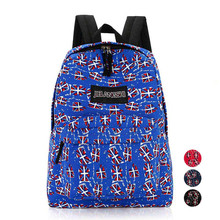 New Arrival 2017 New Fashion Small Fresh 1PC Women Girl Canvas Rucksack Backpack School Bag Book