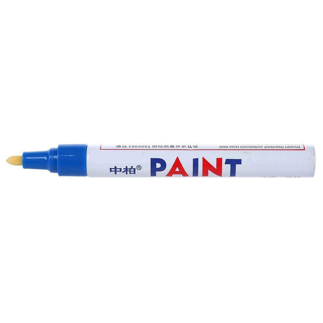 Sipa SP-110 Vilt-getipt marker verf pen permanente geregistreerde band marke auto motorfiets blauw